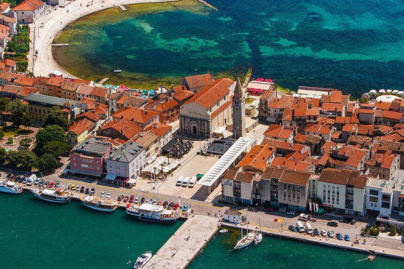 Umag oude stad
